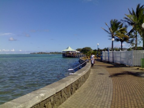Water front Mahebourg