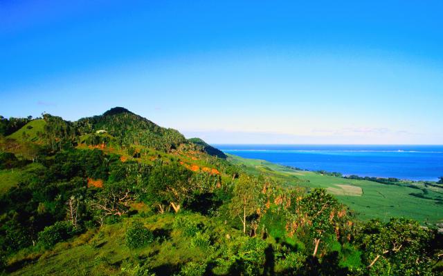 Le nord de l'ile Maurice