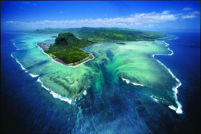 Le mystère des cascades sous-marine de l'ile Maurice.
